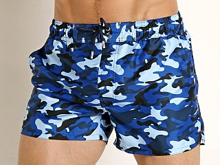 2xist Fashion Ibiza Swim Shorts Traditional Camo Blue