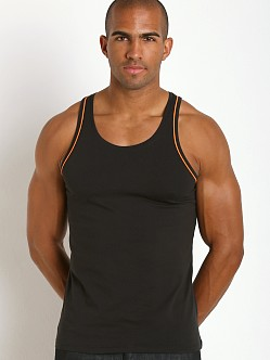 Diesel Cracked Mohawk Carlos Tank Top Black