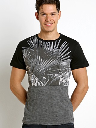 Complete the look: Diesel T-Diego-Ni Palm Leaves T-Shirt Black