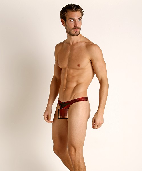 Gregg Homme Skylight Thong Red