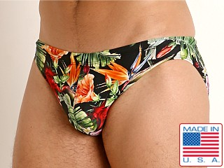 Model in paradise LASC St. Tropez Low Rise Swim Brief