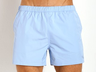 Model in vela GrigioPerla Classic Swim Shorts
