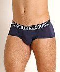 Private Structure Platinum Bamboo Brief Midnight Blue, view 3