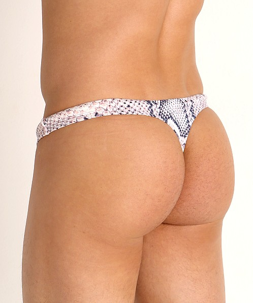 Rick Majors Low Rise Swim Thong Anaconda
