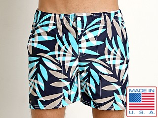 LASC Laguna Swim Shorts Tan Tropical