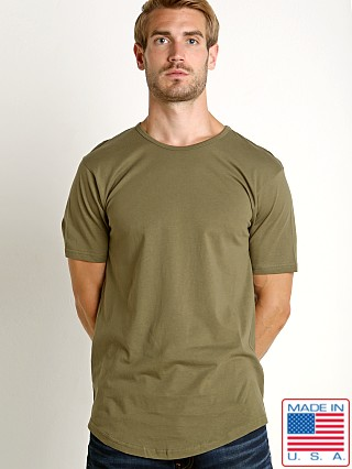 LASC Hipster Long T-Shirt Army