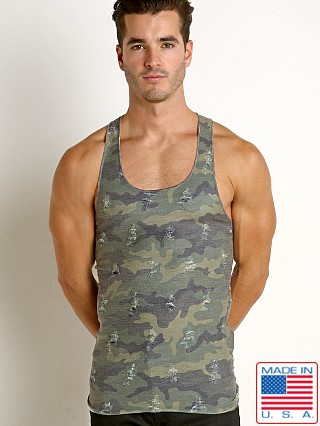 LASC Ripped Stinger Tanktop Woodland Camouflage