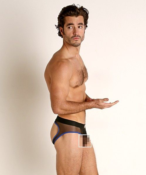 Go Softwear Hard Core Flexxx Mesh Jock Brief Black/Blue