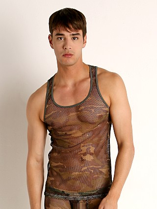 You may also like: Rick Majors Camouflage Artillery Mesh Tank Top