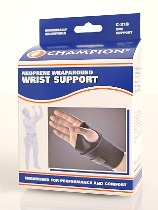 Model in  PCP Champion Neoprene Wrist Support