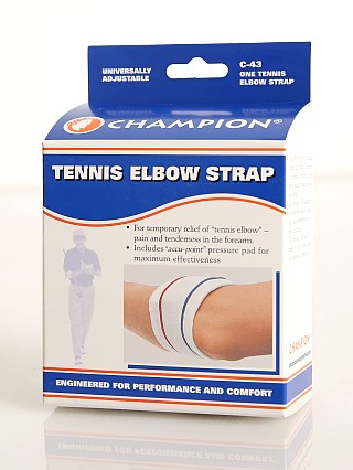 Model in  PCP Champion Tennis Elbow Support