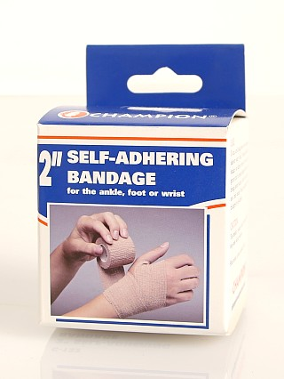 "Model in  PCP Champion Self-Adhering Elastic Bandage 2"" Wide"