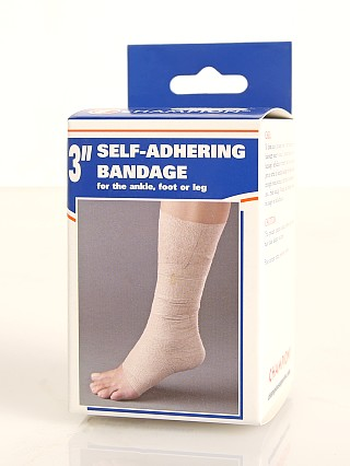"Model in  PCP Champion Self-Adhering Elastic Bandage 3"" Wide"