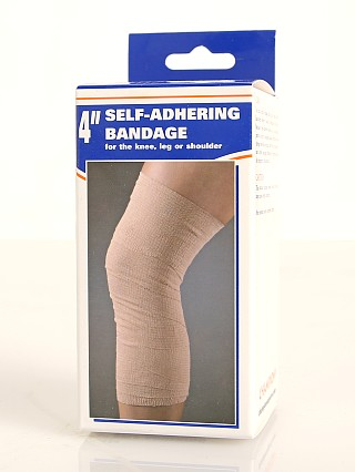 "Model in  PCP Champion Self-Adhering Elastic Bandage 4"" Wide"