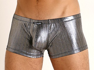 Complete the look: Rick Majors Lustrous Rib Trunk Silver