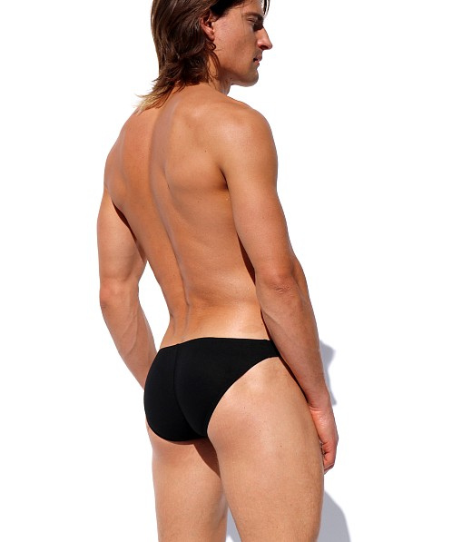 Rufskin Blaze Stretch Rayon Low Rise Briefs Black