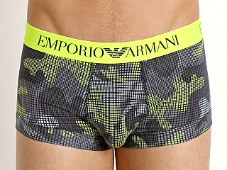 Emporio Armani Pop Print Trunk Fluo Yellow Camou