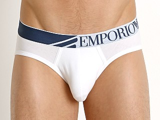 Emporio Armani Colorplay Brief White