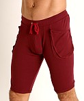 Go Softwear Lumberjack Yoga Short Bordeaux, view 3