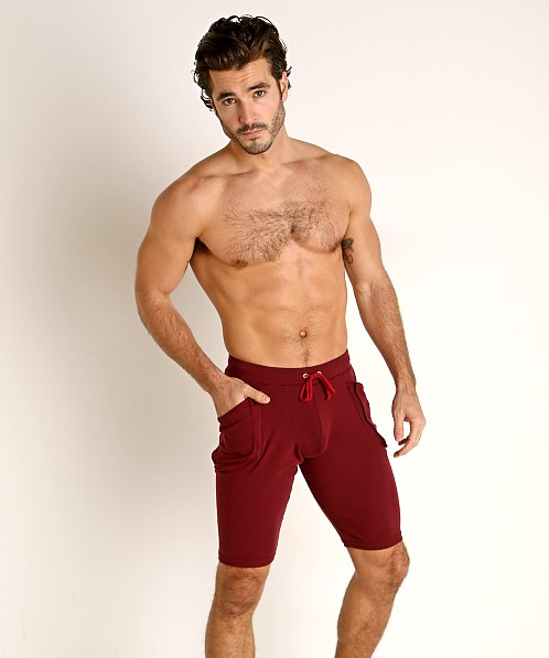 Go Softwear Lumberjack Yoga Short Bordeaux