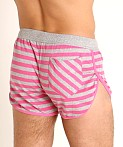 Modus Vivendi Pop Stripes Lounge Short Fuchsia, view 4