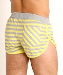 Modus Vivendi Pop Stripes Lounge Short Yellow, view 4