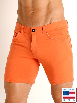 Model in mandarin Go Softwear Havana 5-Pocket Short