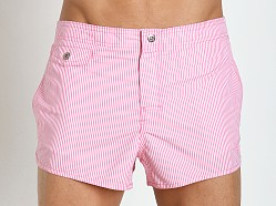 Emporio Armani Logo Swim Shorts Light Pink