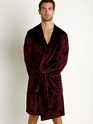2xist After Hours Statement Robe Vinyard Wine