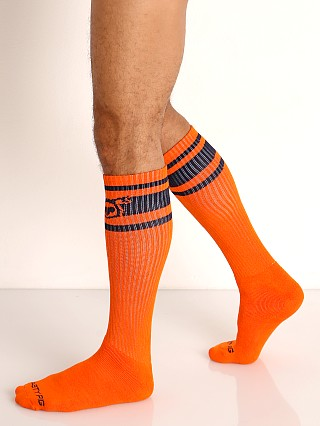 Nasty Pig Hook'd Up Sport Socks Flame Orange