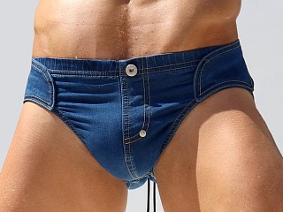 You may also like: Rufskin Rob's Stretch Denim Back Strap Brief Distressed