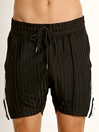 2xist Retro Varsity Track Shorts Black