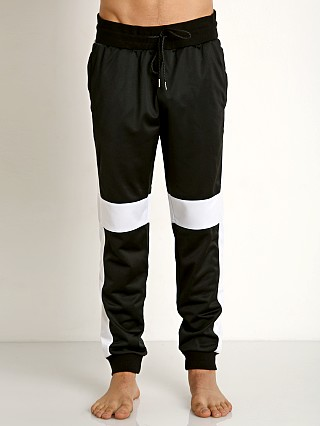 2xist Retro Varsity Colorblocked Track Pant Black/White