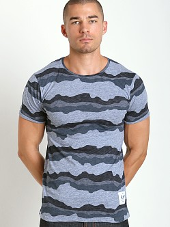G-Star Yoshem Camo Stripes Crew Neck Dark Amann Heather
