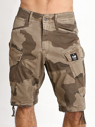 G-Star Rovic Loose Camo Shorts Khaki/Oak