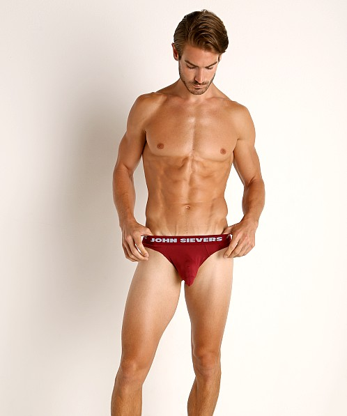 John Sievers SOLID Natural Pouch Brief Hot Pepper