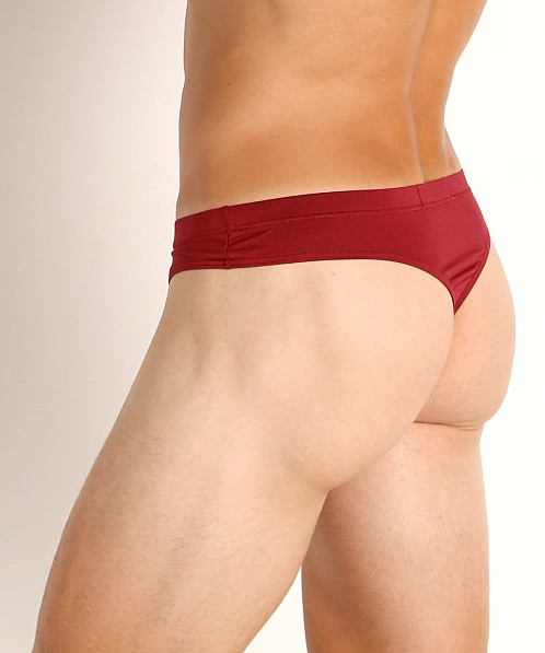 John Sievers LUX Natural Pouch Low Rise Thong Hot Pepper