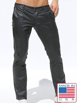 Rufskin Coal Waxed Denim Pants Black