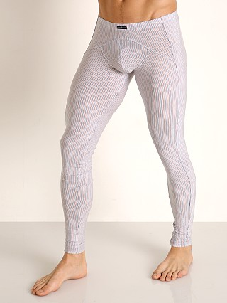 Model in light grey/orange Gregg Homme Feel It Leggings