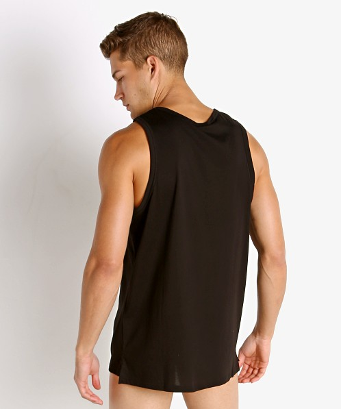 Emporio Armani Rainbow Eagle Tank Top Black