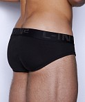 C-IN2 Core Lo No Show Sling Brief Black, view 4