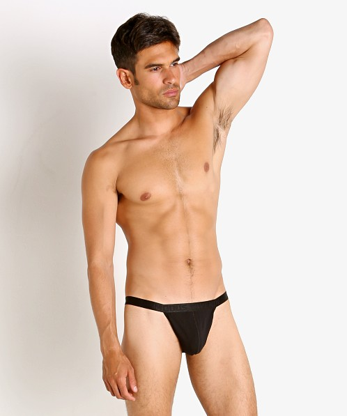 Modus Vivendi New Classics Tanga Sports Brief Black