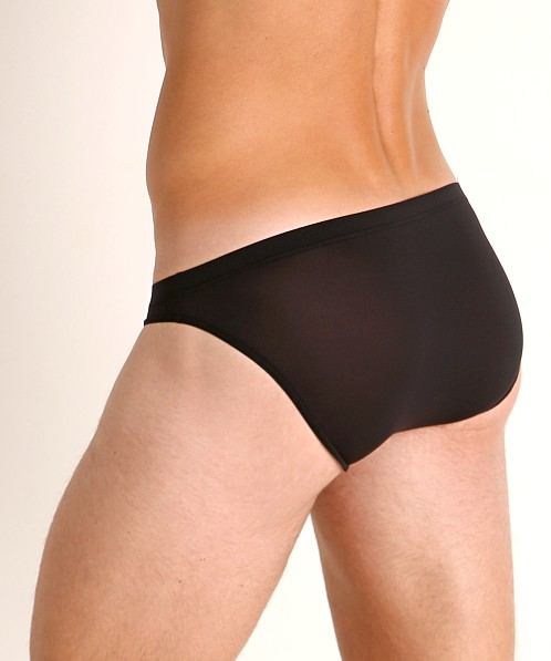 Olaf Benz Red 0965 Brazil Sheer Brief Black