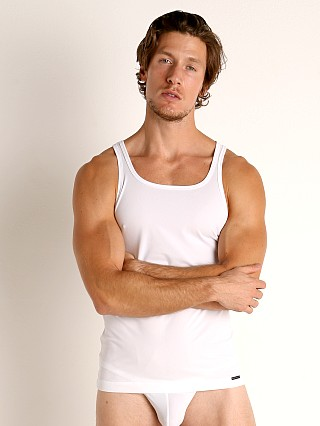 Complete the look: Olaf Benz Red 1950 Carreshirt Square Cut Tank Top White