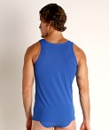 Olaf Benz Red 1950 Carreshirt Square Cut Tank Top Royal, view 4