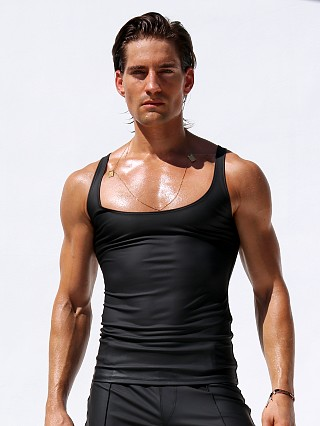 "Complete the look: Rufskin Corto Stretch ""Rubber"" Tank Top Black"