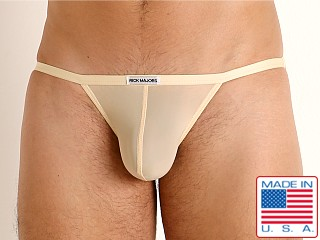 Model in tan Rick Majors Slinky Sports Brief