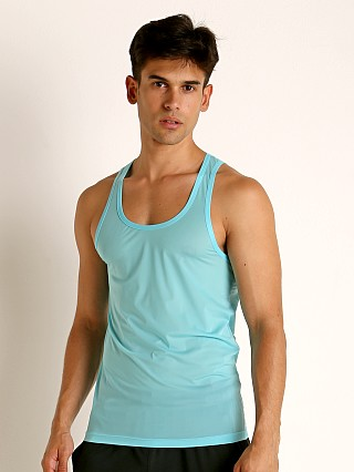 Complete the look: Rick Majors Slinky Classic Tank Top Turquoise
