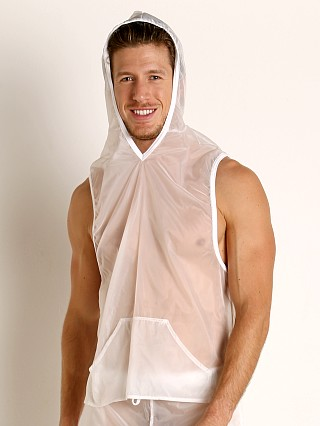 Complete the look: Go Softwear Hard Core Fluid Sleeveless Hoody White