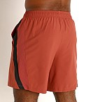 "Under Armour Launch 7"" Running Short Cinna Red/Reflective, view 4"